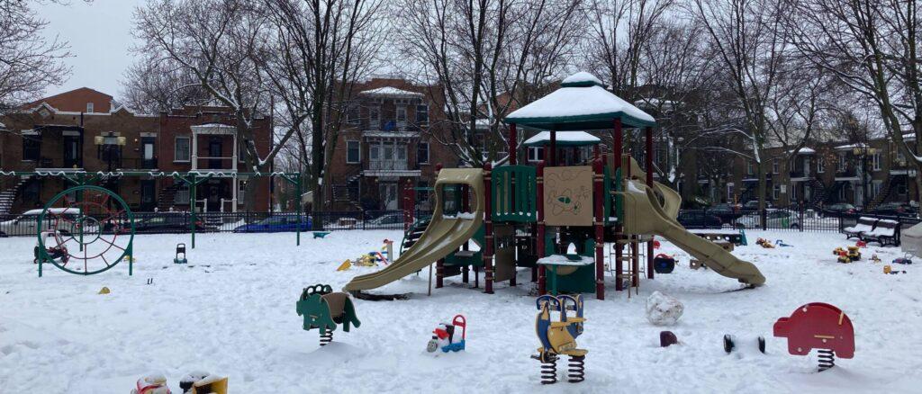 parc quartier rosemont carre molson